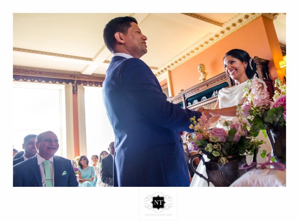 Civil wedding ceremony by Nik Thakar photography
