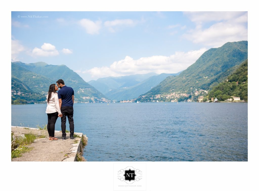lake como pre wedding shoot