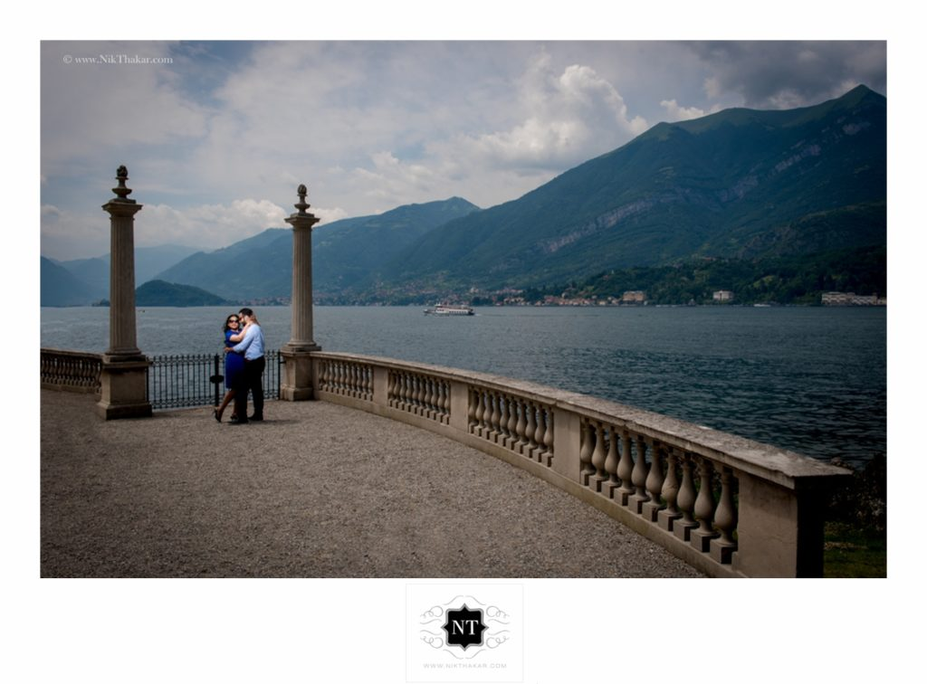 Villa del Balbianello lake como pre wedding shoot