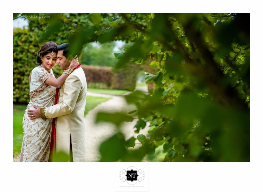 wedding portraits at poundon house