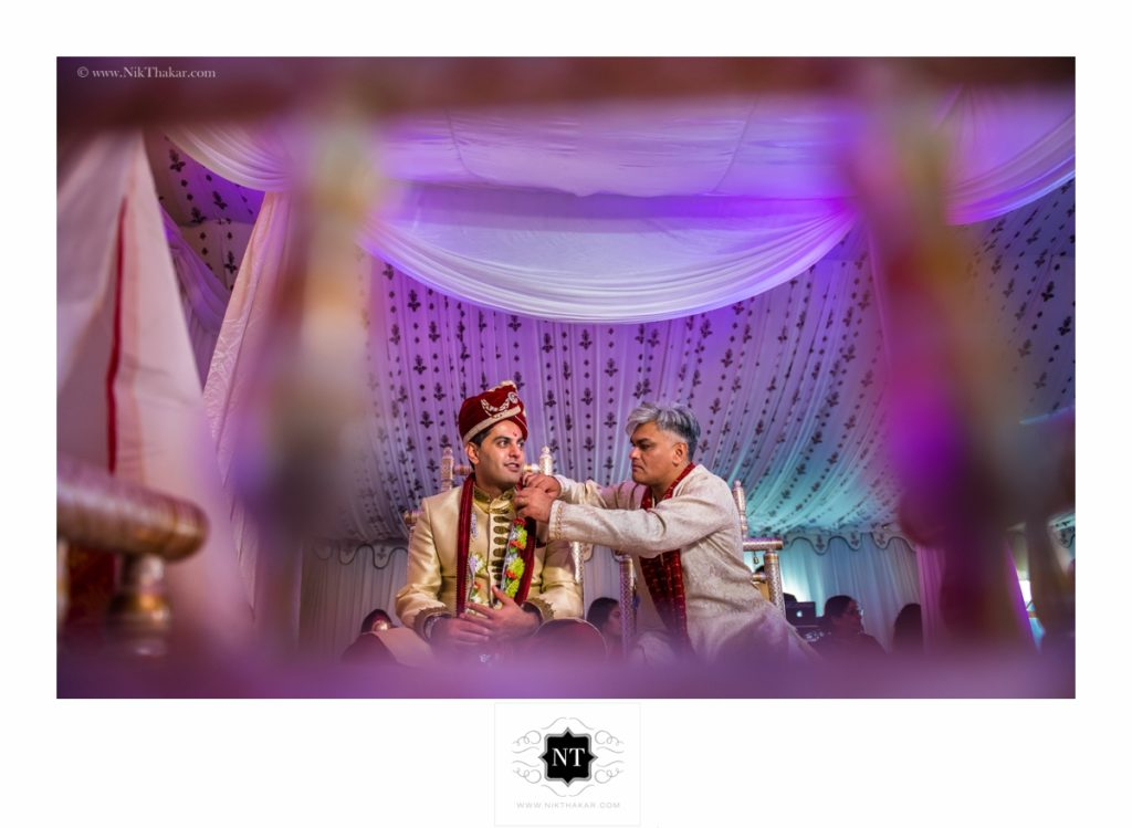 mandap ceremony by nik thakar photography